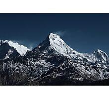 Fish tale Mountain. The himalayas Photographic Print