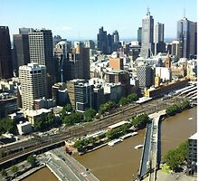 Melbourne  by bazil