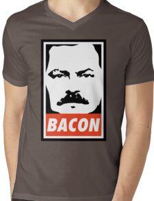 BACON (Colour) Mens V-Neck T-Shirt