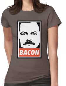 BACON (Colour) Womens Fitted T-Shirt
