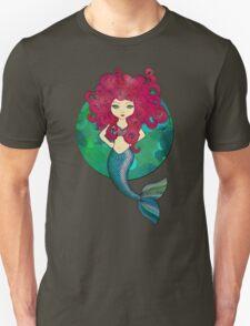 Mermaids have bad hair days, too. Unisex T-Shirt