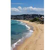 The Golden Shores Of Bar Beach Photographic Print