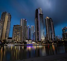 Sufers Paradise, Gold Coast by McguiganVisuals
