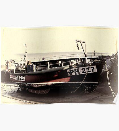 Fishing Boat PH217 Poster