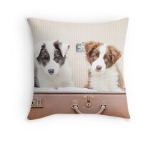Packed and Ready Throw Pillow