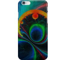 colorful magnetic field iPhone Case/Skin