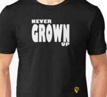 Never grown up Unisex T-Shirt