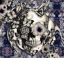 Maybe Next Time, Floral skull by KristyPatterson