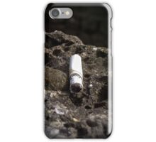 the last cigarette iPhone Case/Skin