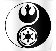 Rebel Alliance v Galactic Empire - Yin Yang 2 Poster