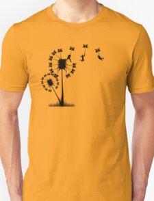 Small Flying Dandelion Men T-Shirt