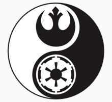 Rebel Alliance v Galactic Empire - Yin Yang 2 by Zanie
