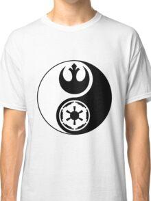 Rebel Alliance v Galactic Empire - Yin Yang 2 Classic T-Shirt