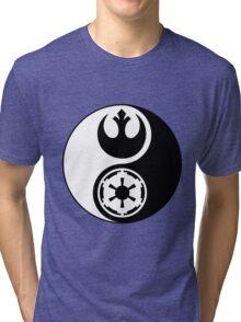 Rebel Alliance v Galactic Empire - Yin Yang 2 Tri-blend T-Shirt