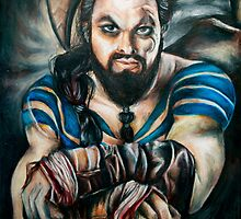 Khal Drogo by weronikart