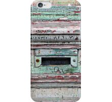 Mail Slot  iPhone Case/Skin