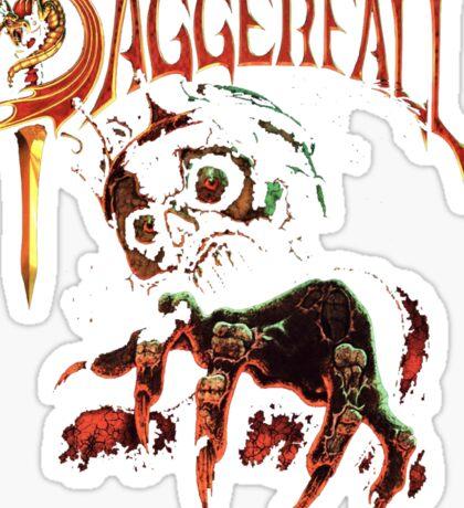 Daggerfall The Elder Scrolls 2.0 Sticker