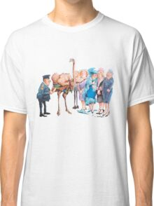 Naked ostrich Classic T-Shirt