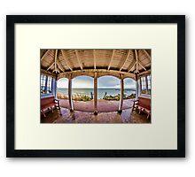 Lyme Regis Pavilion Framed Print