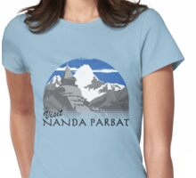 Visit Nanda Parbat Womens Fitted T-Shirt