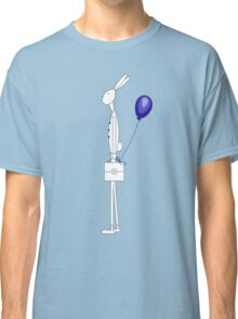Bunny with balloon Classic T-Shirt