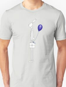 Bunny with balloon Unisex T-Shirt