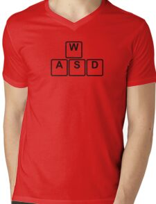 PC Gamer's WASD Tee Mens V-Neck T-Shirt