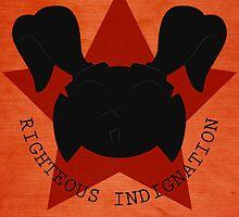 Righteous Indignation by Luke Stevens
