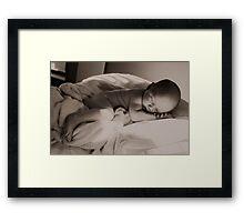 Baby's Dreams Framed Print