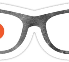 Specs in Space Sticker