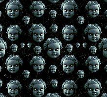 Evil Child Expression Pattern by DFLC Prints