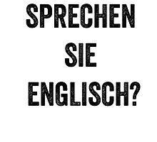 Do you speak English? (German) by EnglishAbroad