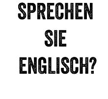 Do you speak English? (German) by EnglishAbroad