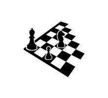 Chess board Photographic Print