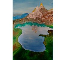 The Mountain Lake Photographic Print