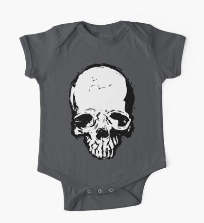 Skull Vector One Piece - Short Sleeve