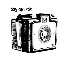 Say Cheese by Edward Fielding