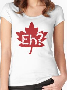 EH Canada Day Women's Fitted Scoop T-Shirt