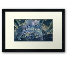 Thermoptic Camouflage Framed Print