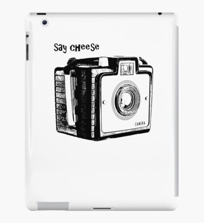 Say Cheese iPad Case/Skin