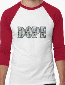 Hipster DOPE Men's Baseball ¾ T-Shirt