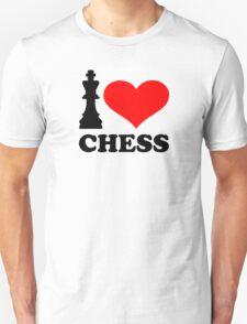 I love chess Unisex T-Shirt