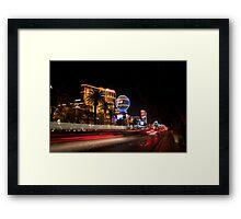 Vegas Strip Framed Print