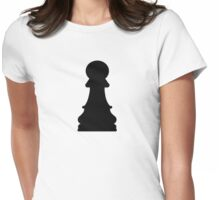 Chess pawn Womens Fitted T-Shirt