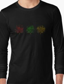 Painted trees Long Sleeve T-Shirt