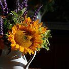 Finding Van Gogh, Twelve Sunflowers in a Vase by Elizabeth Bravo