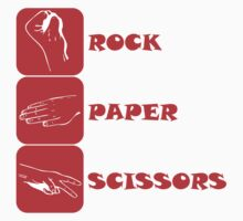 Rock Paper Scissors T-Shirt