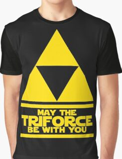 May the triforce be with you Graphic T-Shirt