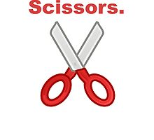 Always Throw Scissors by kwg2200