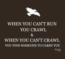 Firefly- When you can't crawl by jenihajas